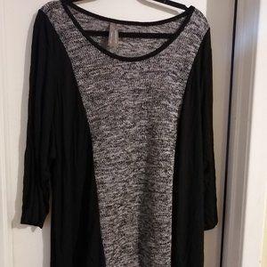 Grey/Black sweater